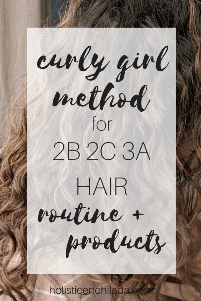 curly girl method 2b 2c 3a hair