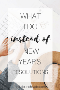 new years resolutions pinterest image