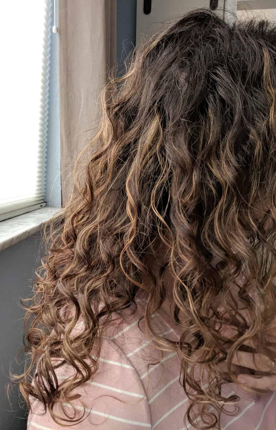 Curly Hair Routine for 2B 2C 3A Hair