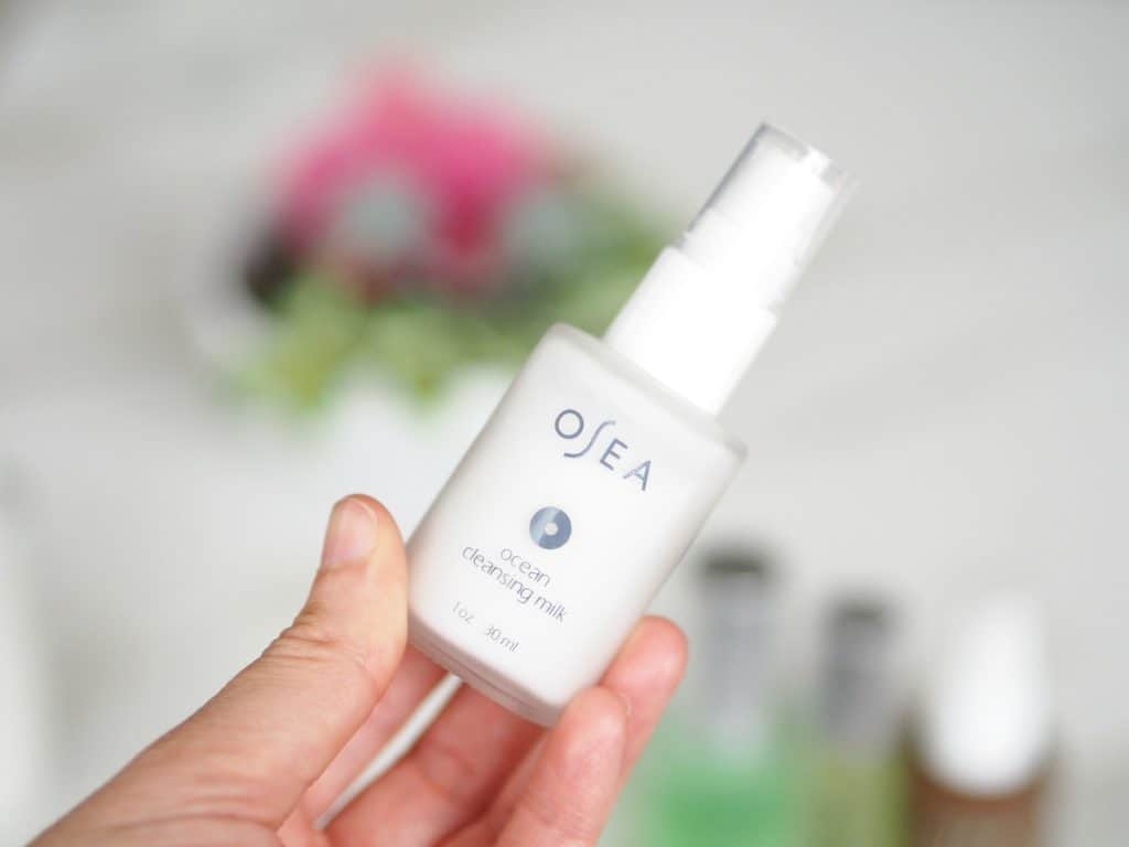 osea malibu ocean cleansing milk review