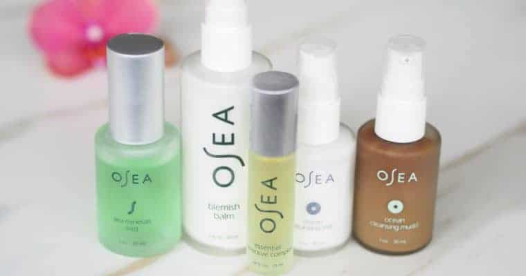 OSEA Skincare Review – Natural Skincare for Acne and Oily Skin