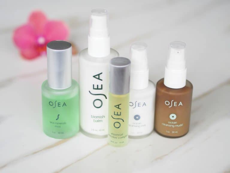 OSEA Skincare Review – Plant-Based Natural & Organic Skincare