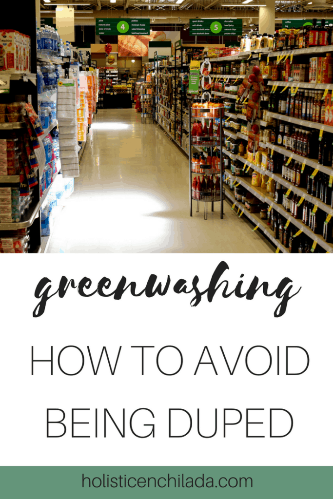 greenwashing pin how to avoid being duped