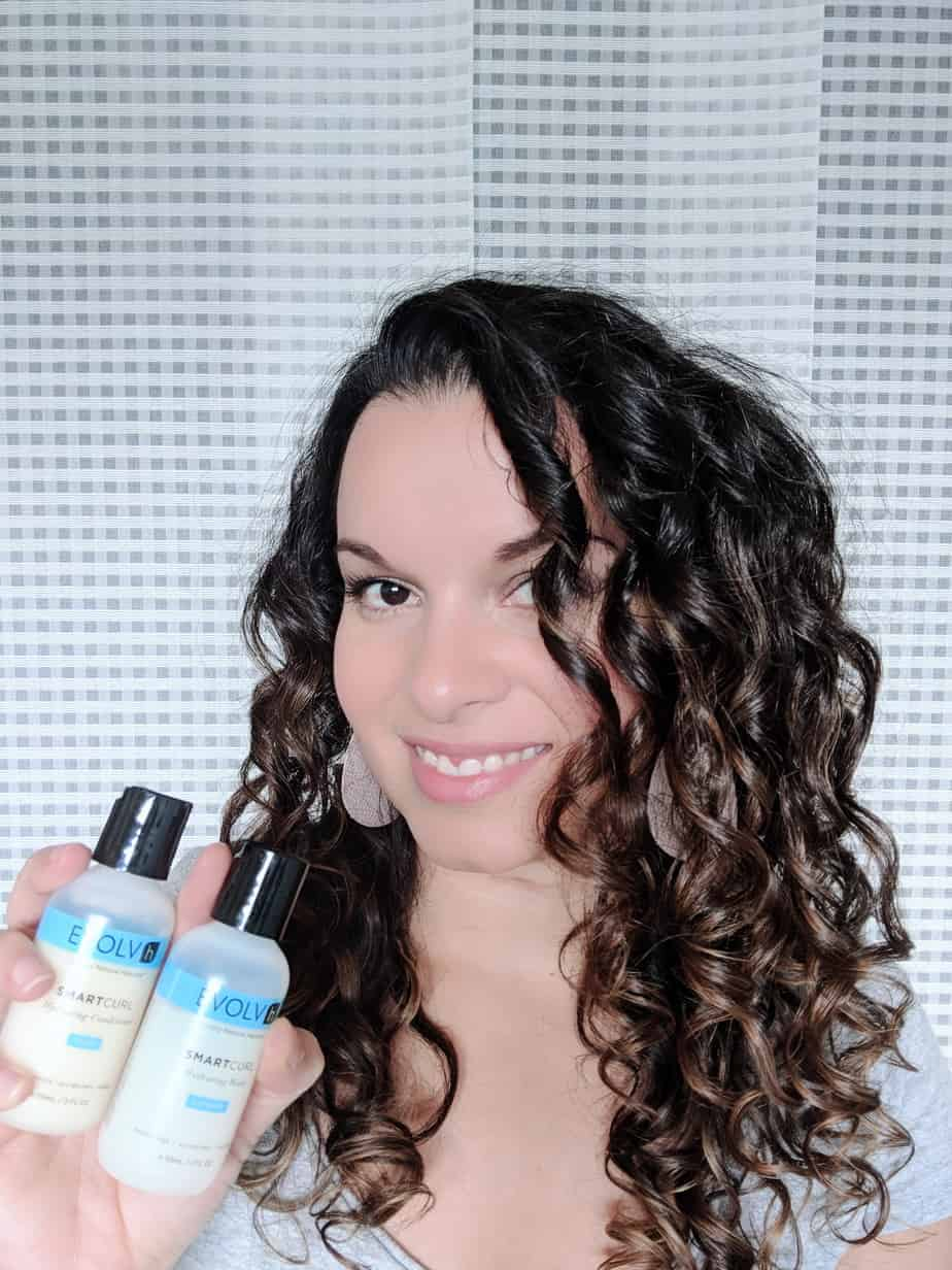 Evolvh Review for 2C 3A Curly Hair – Curly Girl Method