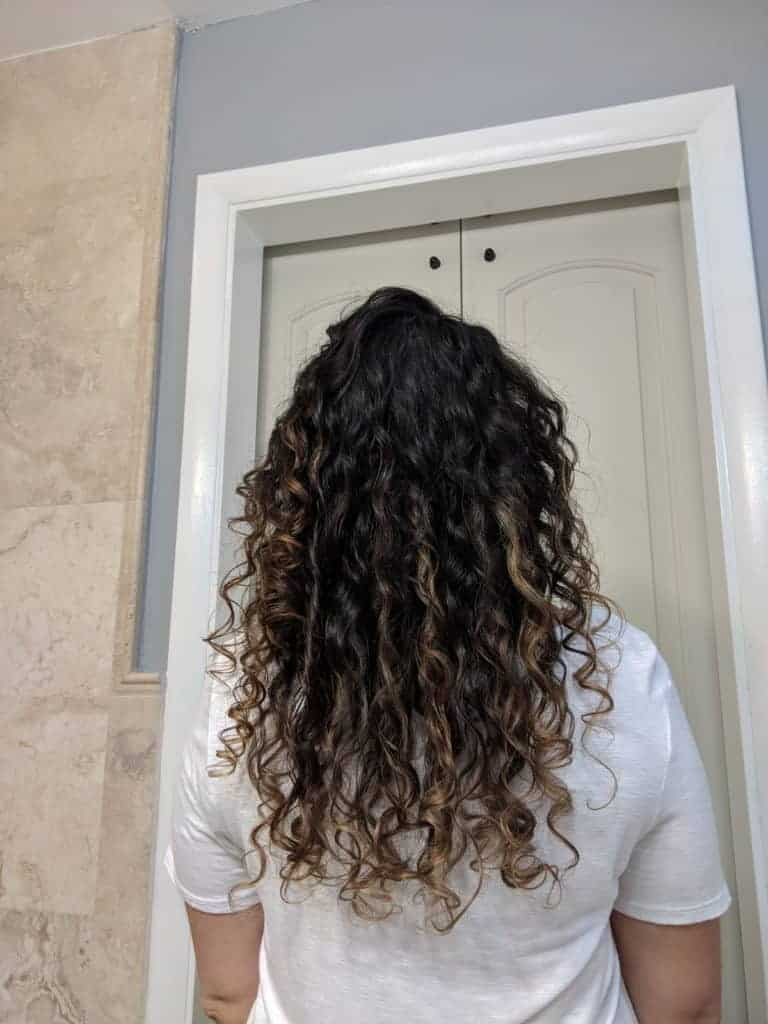 Evolvh review curly hair
