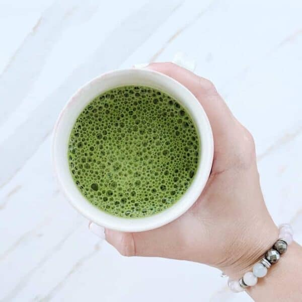 matcha chocolate latte