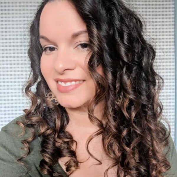 curly girl method before after