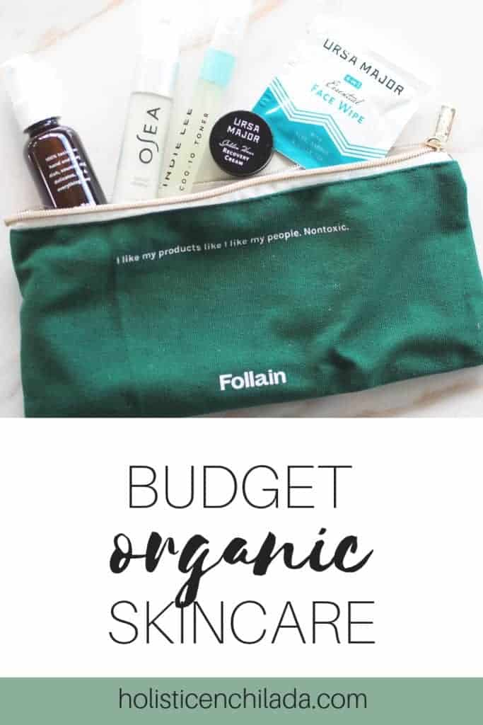 budget organic skincare