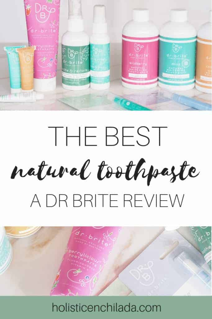 Dr Brite review natural toothpaste