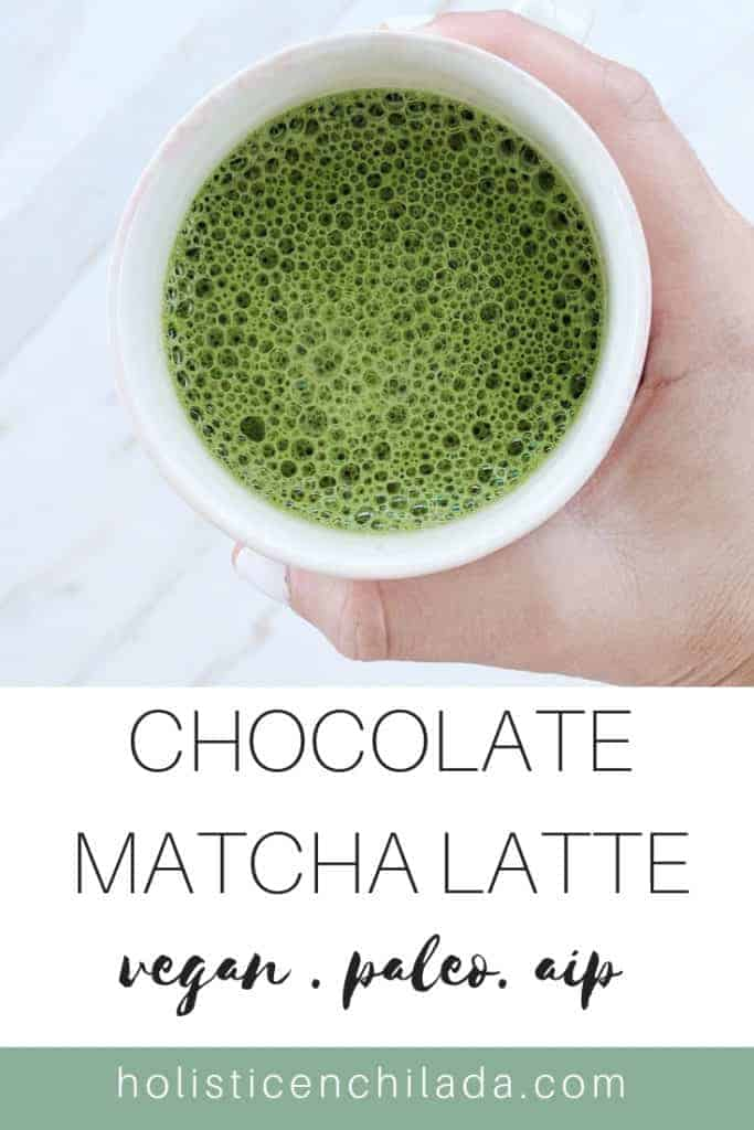 chocolate matcha latte recipe
