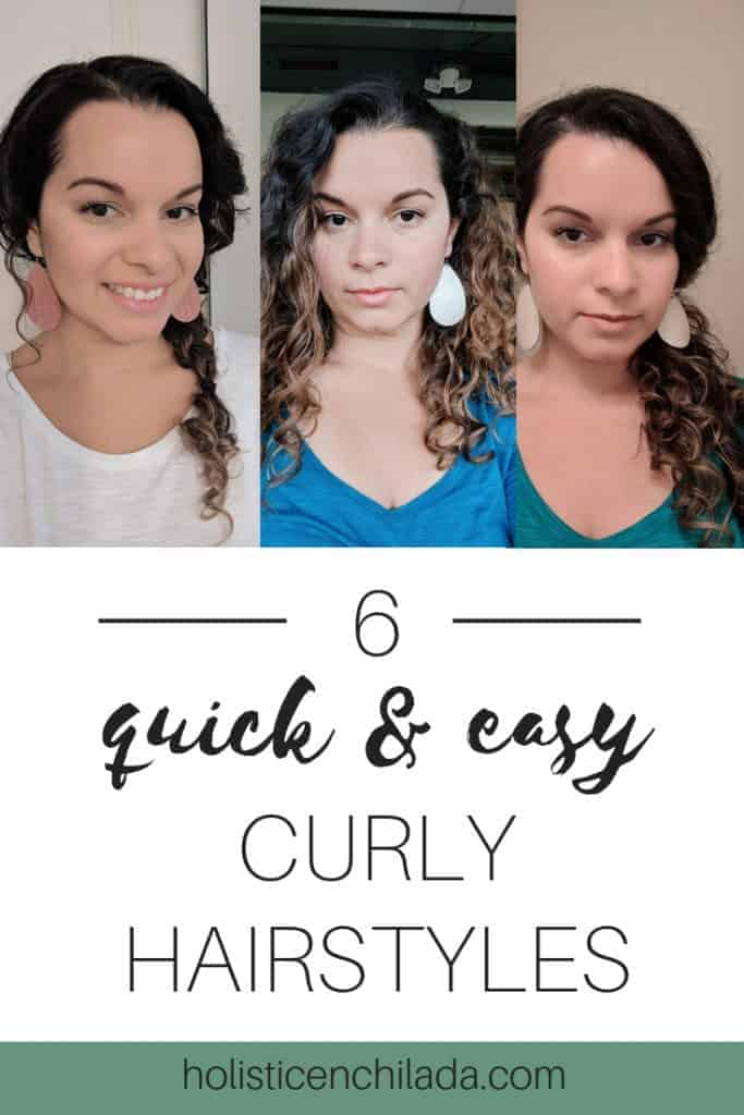 curly hairstyles for bad hair days
