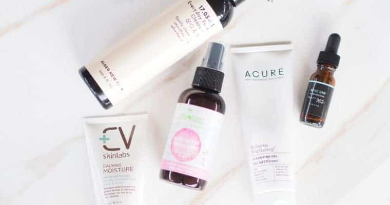 Natural Skincare Routine for Dry Acne Prone Skin