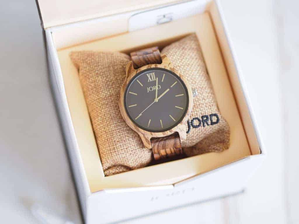 JORD wooden watch for a valentine's day gift