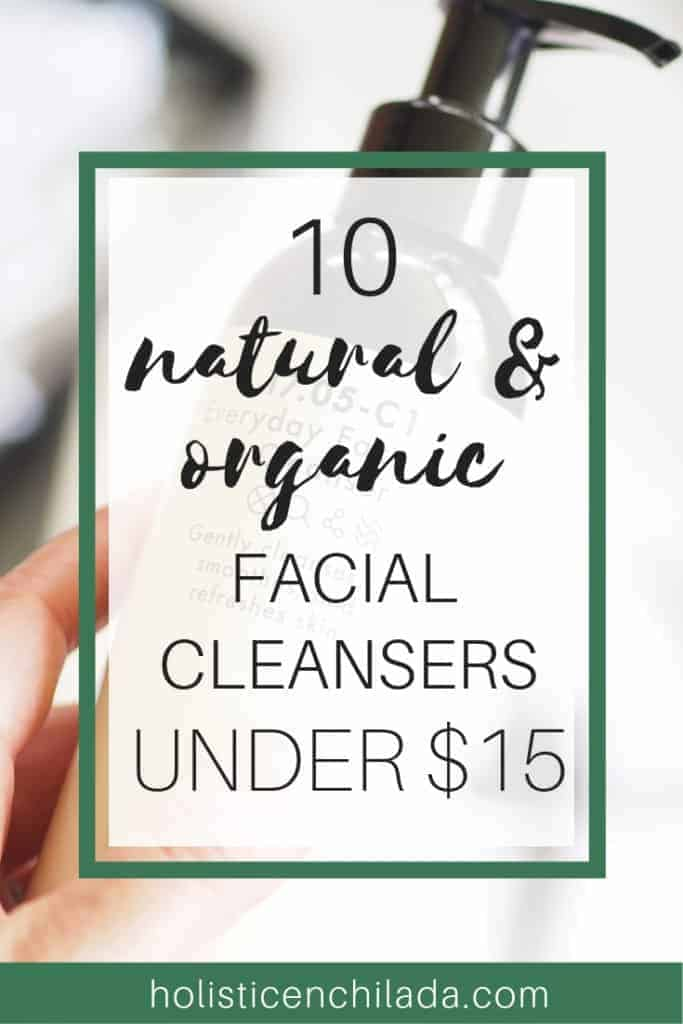 inexpensive natural facial cleansers