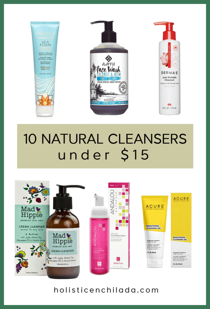 affordable natural face cleansers