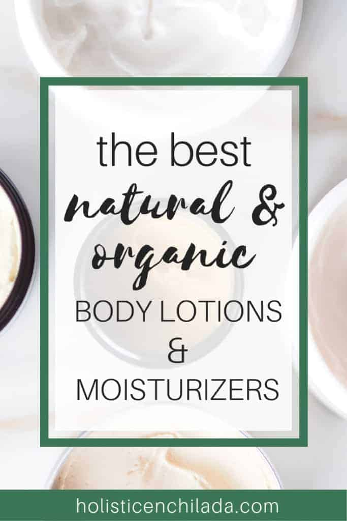 natural body lotions and moisturizers