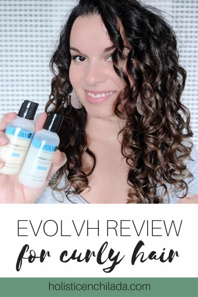 evolvh review for curly hair