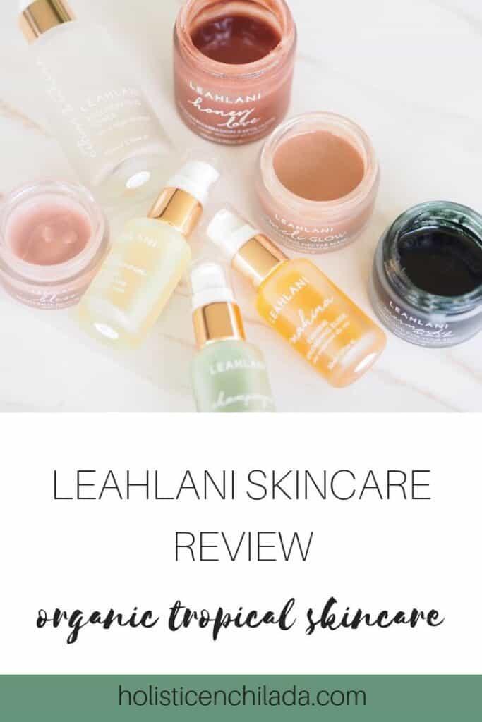 Organic nontoxic  skincare Lealani review