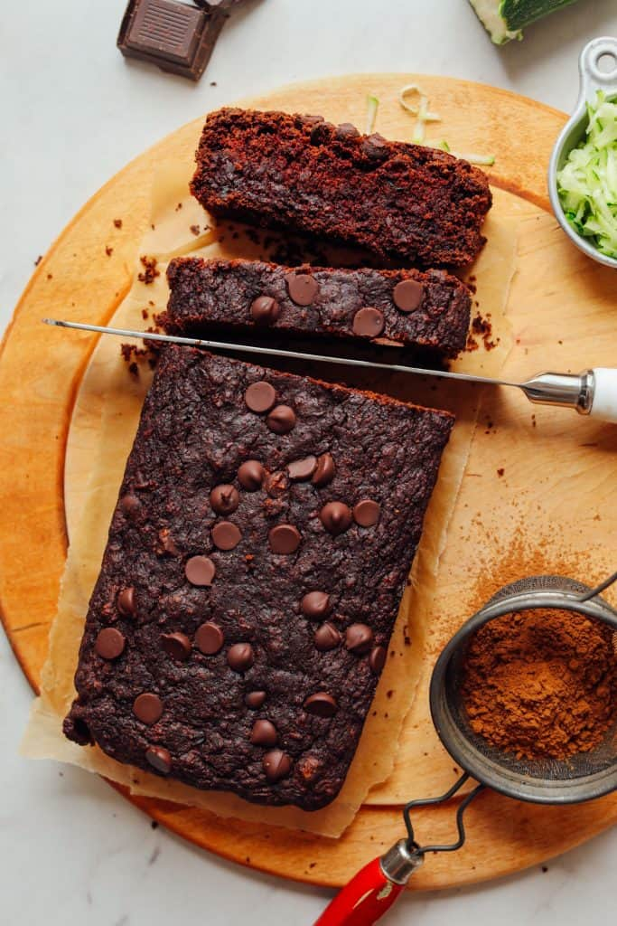 Vegan Gluten-Free Chocolate Zucchini Bread | Minimalist Baker Recipes