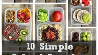10 Healthy Simple School Lunches from Trader Joe's