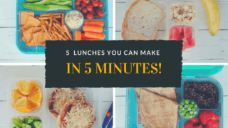 5 Healthy Lunches You Can Make in 5 Minutes (each) - Easy Real Food