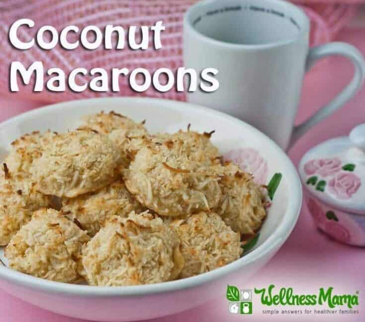 Healthy Coconut Macaroons Recipe