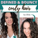 curly girl method routine for defined and bouncy curly hair