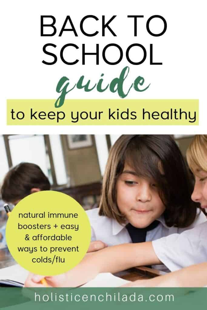 back to school immune booster for kids - how to keep your kids healthy