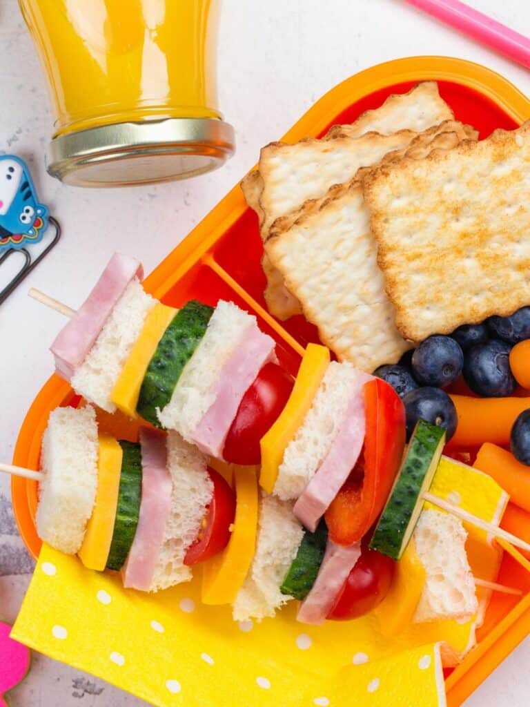 Healthy Lunch Box Ideas for Back to School