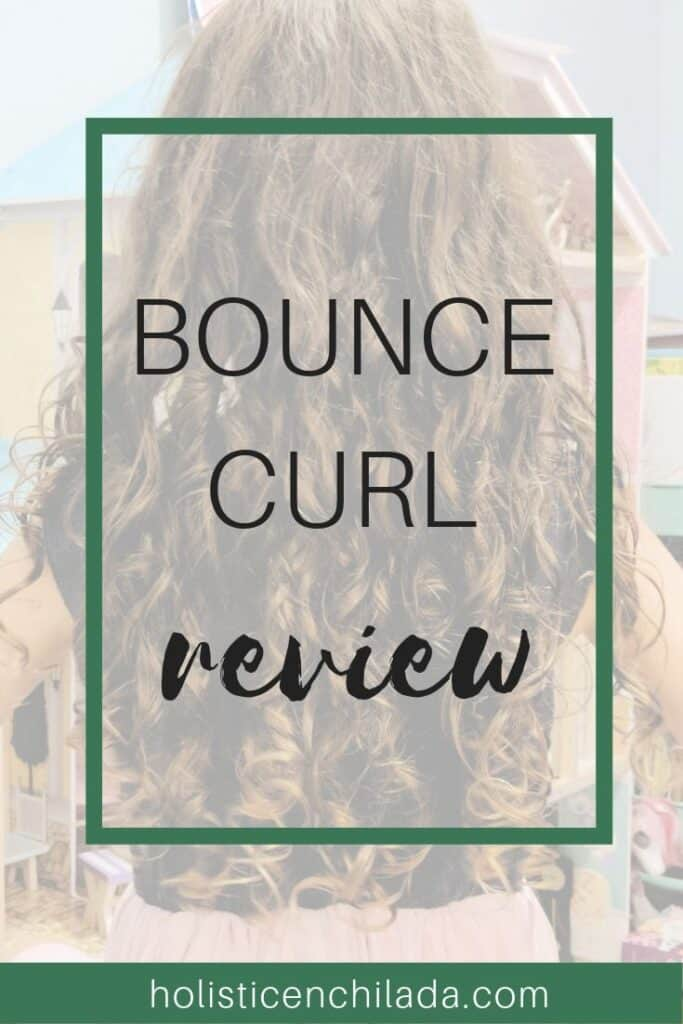 Bounce Curl Review for fine, curly hair 2b 2c 3a curly hair