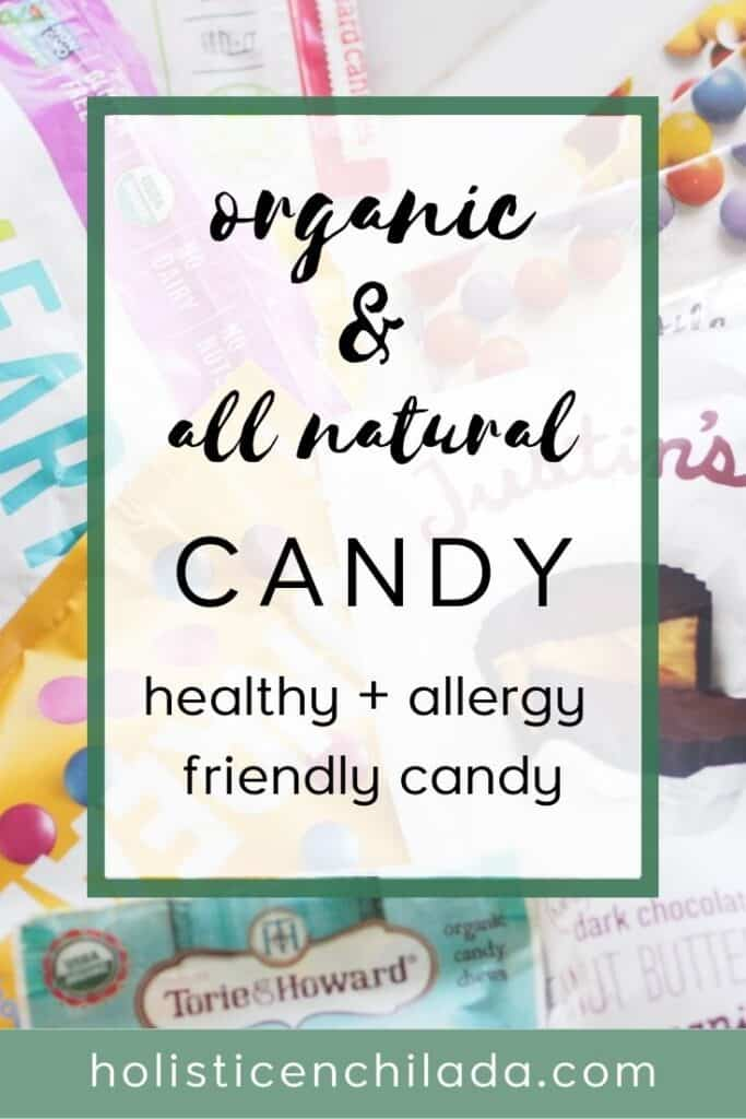 organic and all natural candy for Halloween