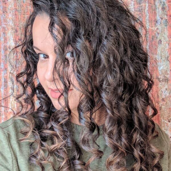 clarify curly hair