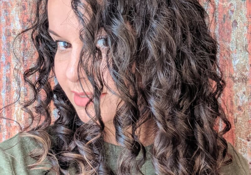 clarify curly hair