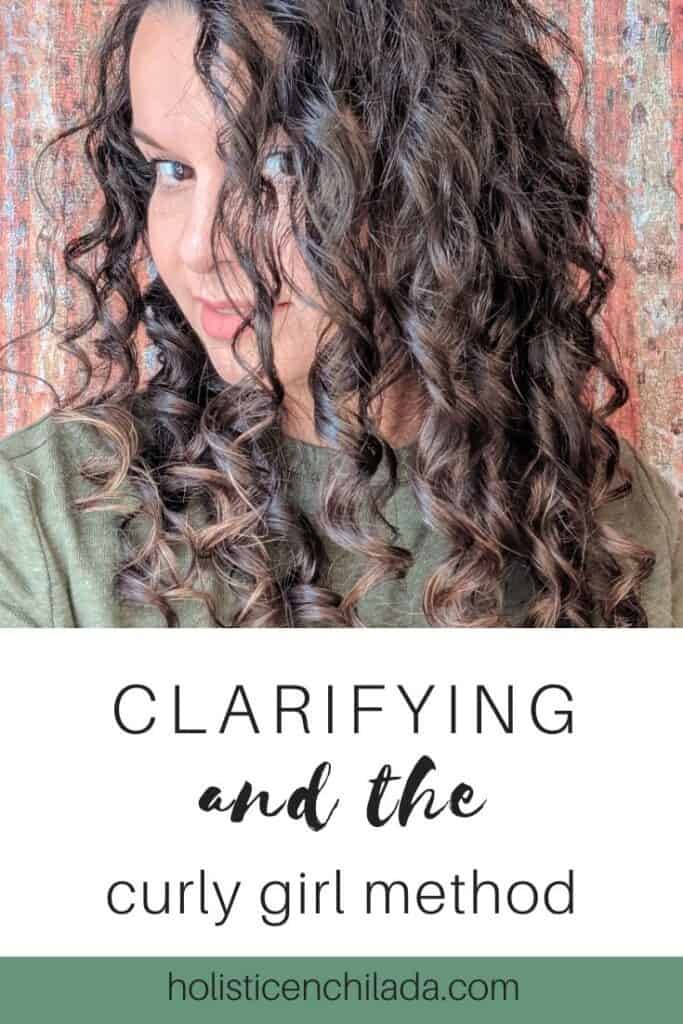 clarifying and the curly girl method