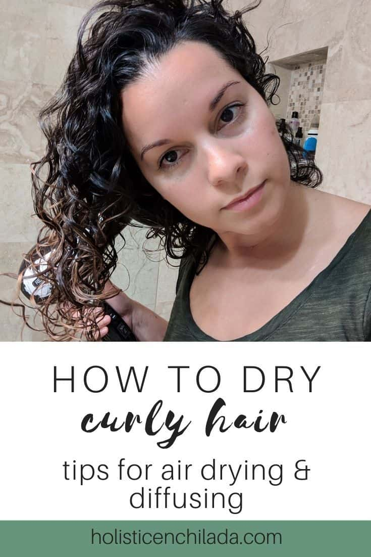 how to dry curly hair - trips to sir dry and diffuse curly hair | curly girl method, cg method, plopping, diffusing curly hair, wavy hair, curly hair tips, frizz remedies, frizz free tips #curlygirlmethod #cgmethod #curlyhairtips #curlyhair