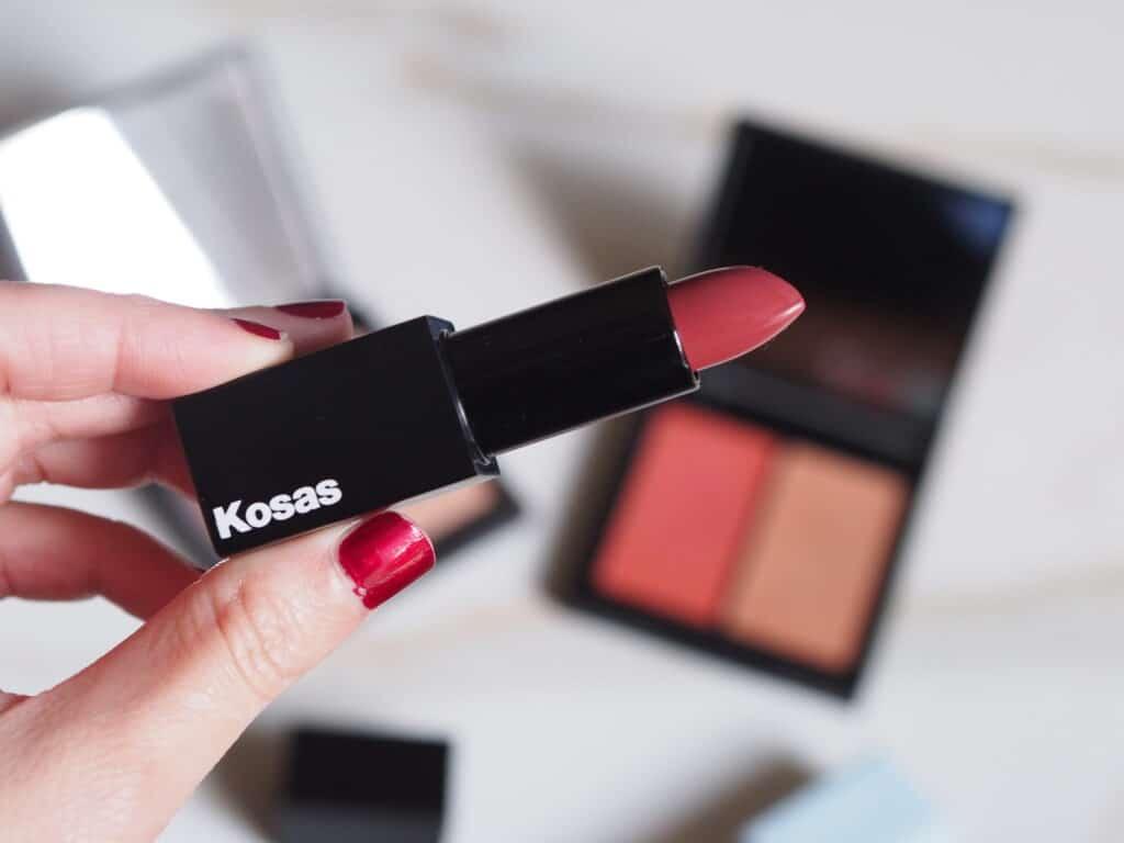 Kosas lipstick review Undone