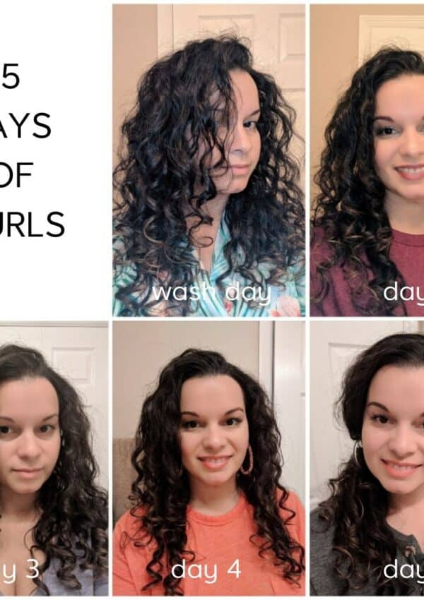 Daily Curly Hair Routine Throughout The Week