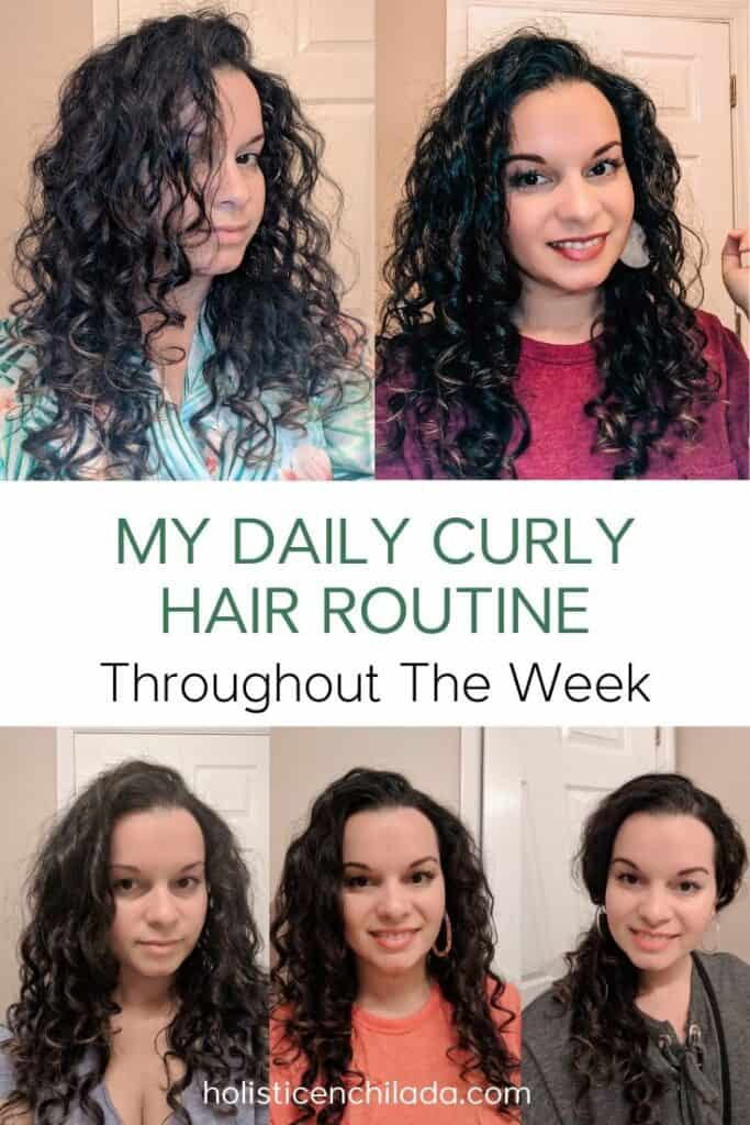 curly girl method daily routine for fine curly hair 2c 3a