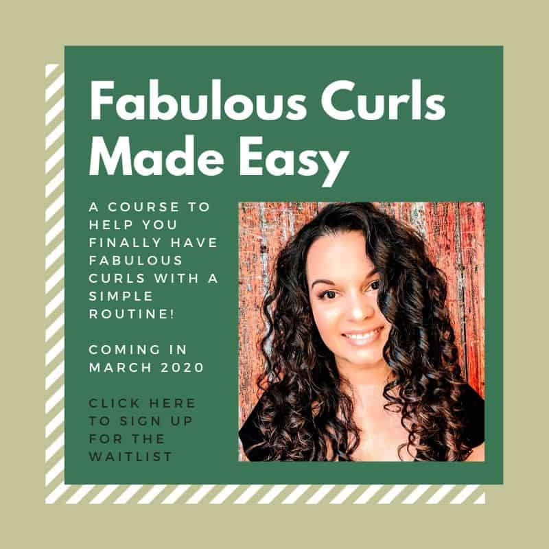 curly girl method course
