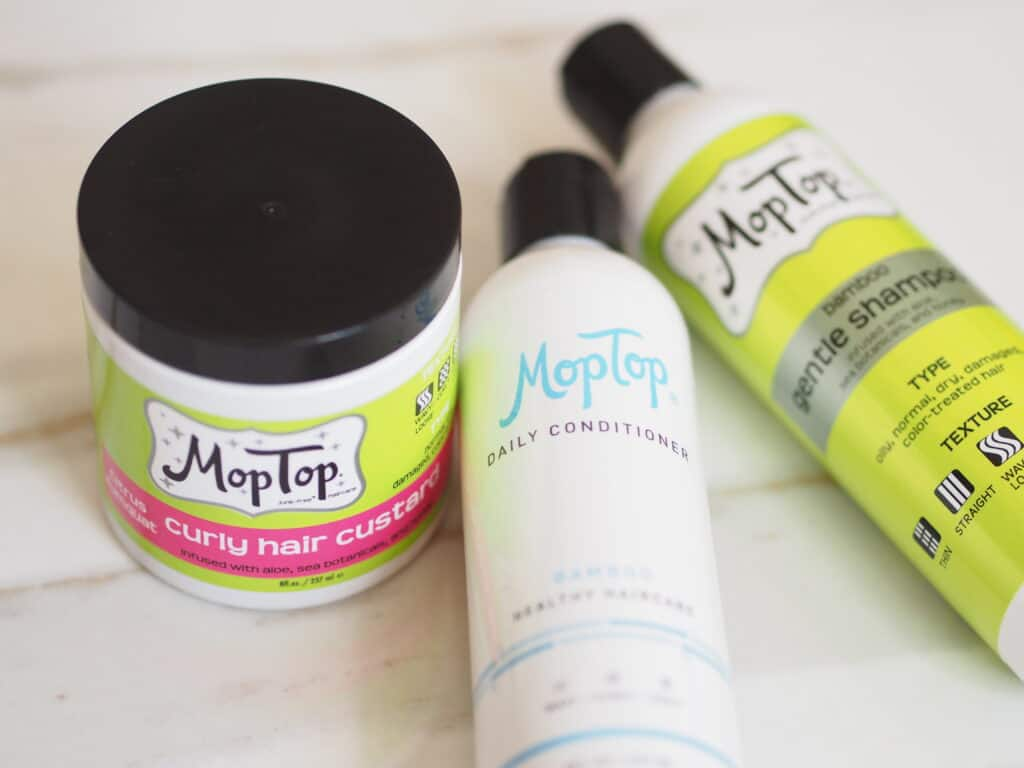 Mop Top nontoxic curly hair products