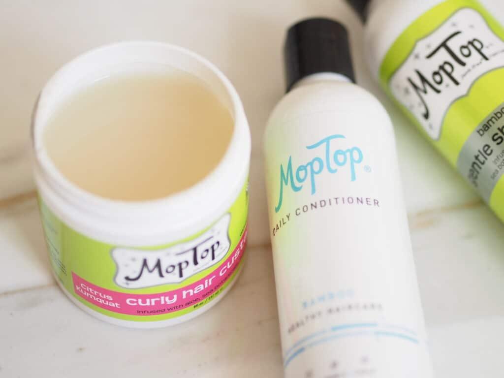 MopTop curly hair custard review