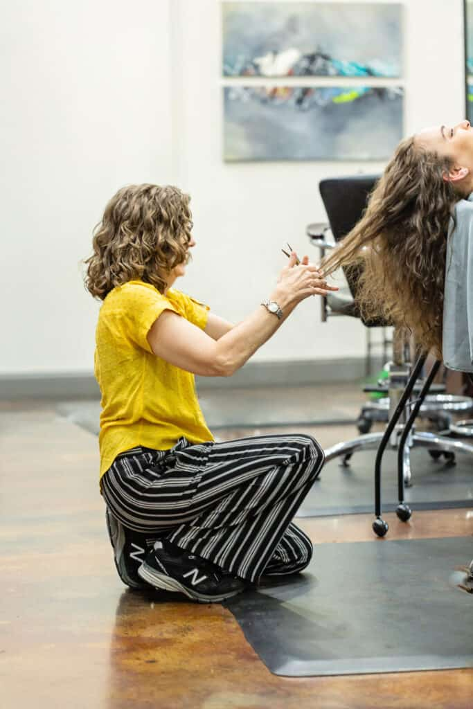 Laurie Cain Curl Specialist curly hair cut