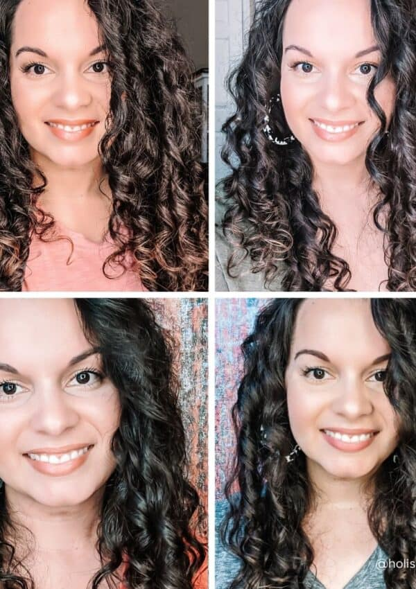 Mini Reviews of 4 Curly Hair Products