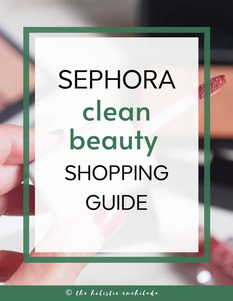 sephora clean beauty shopping guide  curly girl method resources