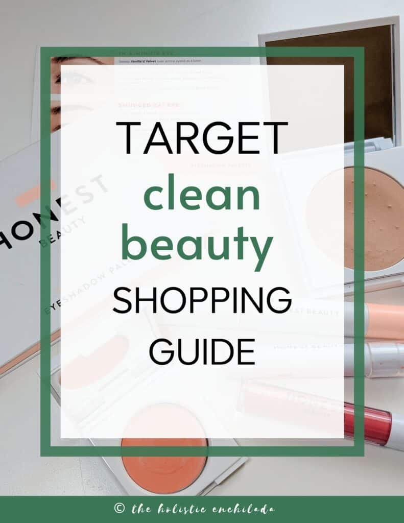 Target clean beauty shopping guide  curly girl method resources