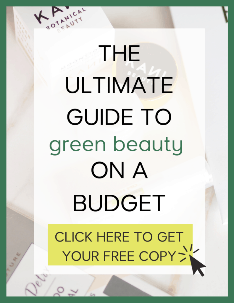 Ultimate Guide to green beauty on a budget  curly girl method resources