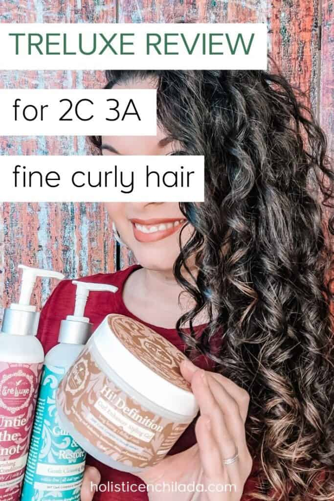 TreLuxe review for 2c 3a fine curly hair