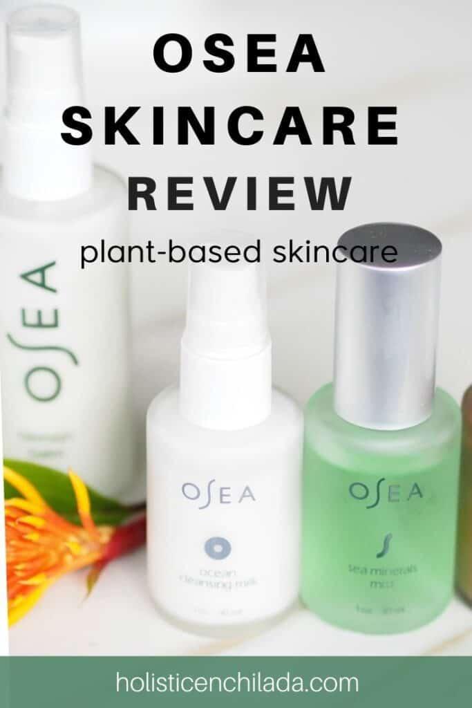OSEA skincare plant-based skincare review