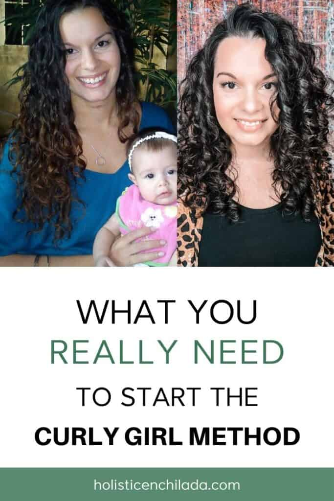 how to start curly girl method