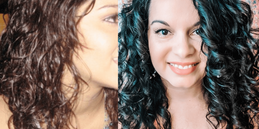 curly girl method transformation